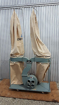 Delta 2-Bag, 4-Port Dust Collector (50-853) - 3 HP Single Phase