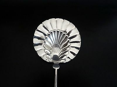 Rare French Antique Sterling Silver Serving Spoon 1850's - Tableware