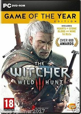 The Witcher 3:Wild Hunt-Game of the Year Edition-PC Global Play-Not Key/Code