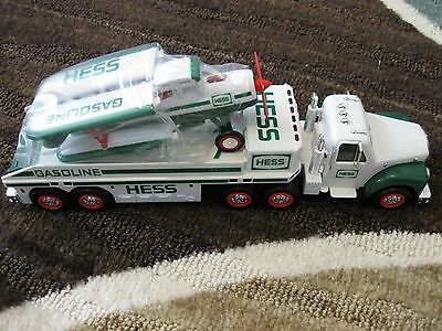 2002 Hess Toy Truck  And Airplane, New In Box