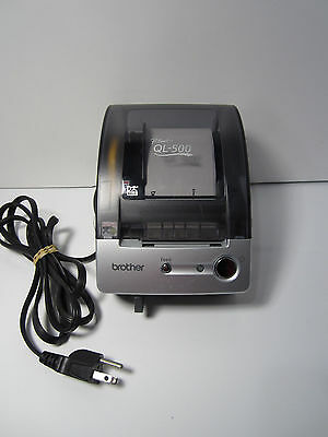 Brother P-Touch QL-500 Thermal Label Printer Manual Cut With Labels