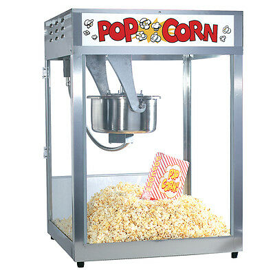 Gold Medal 'Macho Pop' #2554 Movie theater Popcorn Machine 16 Oz Commercial