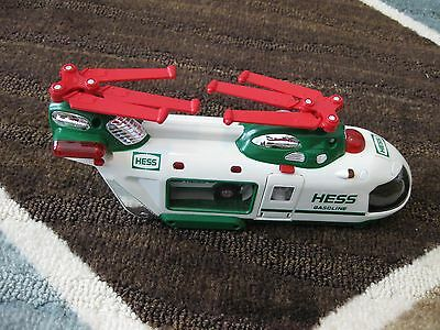 2001 Hess Helicopter With Motorcycle And Cruiser, New In Box