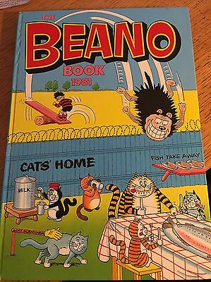 The Beano Book 1981 (Annual) vintage old rare Book