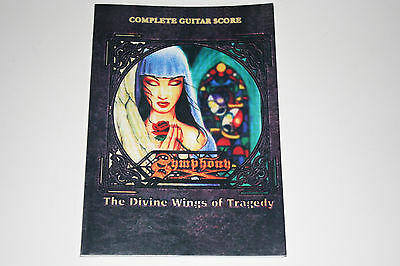 Symphony X The Divine Wings of Tragedy Complete Guitar Score Tab Book