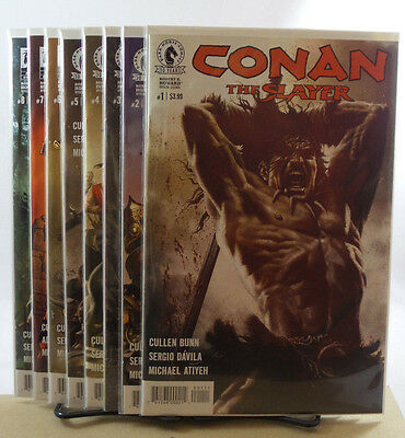 Conan The Slayer #1 2 3 4 5 6 Cullen Bunn Dark Horse Comics 2016 NM 9.4