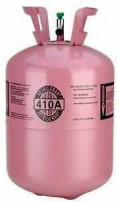 410a, R410a Refrigerant 25lb tank. New, Full and Factory Sealed