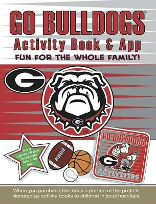 208a70d8 Georgia Bulldogs Dawgs Kids Sports Activity Book Coloring Stickers Puzzles  Games