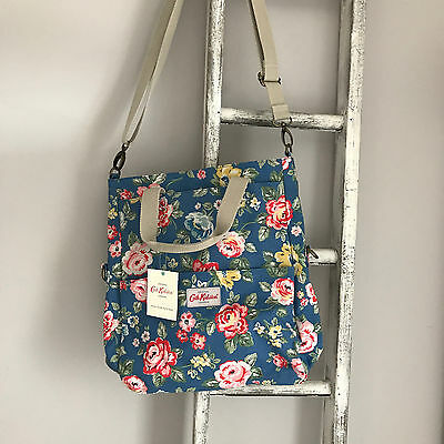 BNWT Cath Kidston Changing Bag Fold Over Tote Nappy Bottle Holder Mat Rose New