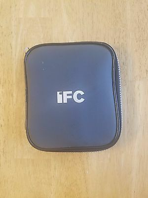 IFC (INDEPENDENT FILM CHANNEL) Europa WATCH with multiple bands in zip case.