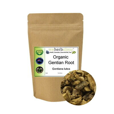 Gentian Root Herb Tea Naturopathically Prepared ~ Liver - Detox Best Fresh