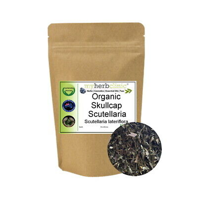Organic Skullcap Herb Tea ~ Naturopathic ~ Calming Anxiety Nervine Tonic