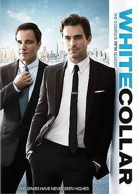White Collar: The Complete Fifth Season (DVD, 2014, 4-Disc Set) Brand New