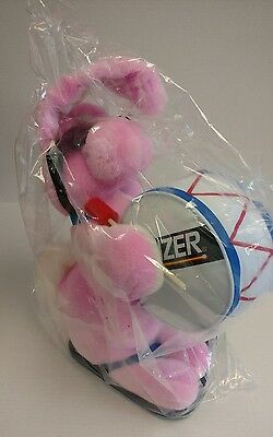 "VINTAGE(1989) ENERGIZER BUNNY PLUSH  ADVERTISING-COMPLETE w/FLIP FLOPS 20"" LARGE"