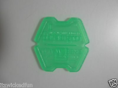 Lot of 100 Green Type II Tokettes Greenwald Industries GI Tokette Laundry Tokens