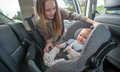 NEW Britax Safe-N-Sound Unity Neos Infant Baby Carrier Capsule Car Seat Denim