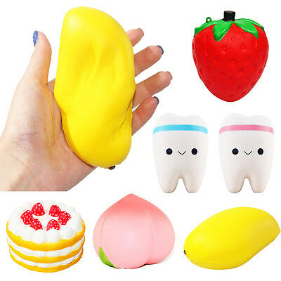 11.5CM Jumbo Colossal Squishy Cake Fruit Scented Slow Rising Toys Kid Best Gift