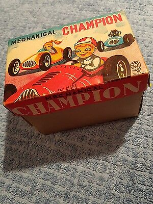 Mechanical champion Tin Toy Toys Japan in Schachtel   !!!