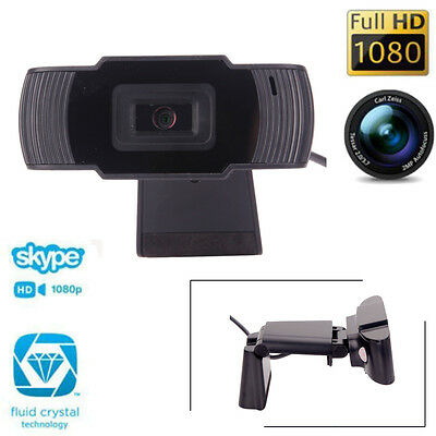 USB 12MP HD Webcam Web Video Camera with Built-in Microphone for Skype PC UK