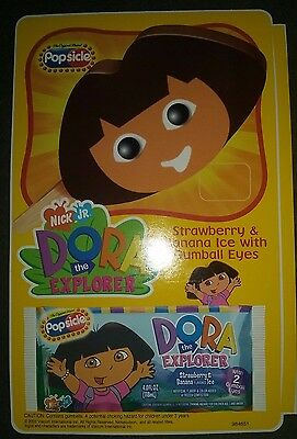 Popsicle Dora The Explorer  Ice Cream Truck Sticker New