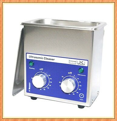 Coins Jewelry Heated Timer Ultrasonic Cleaner DR-MH07 0.7L FREE Shipping+Basket