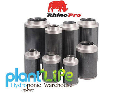 Rhino Pro Carbon Filters 4,6,8,10,12 inch Hydroponics