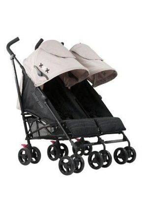 Baby Love Odyssey Twin Dual Double Baby Stroller