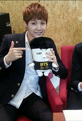 New Condition BTS Hiphop Monster 1st Generation Official Plush Toy Doll SUGA