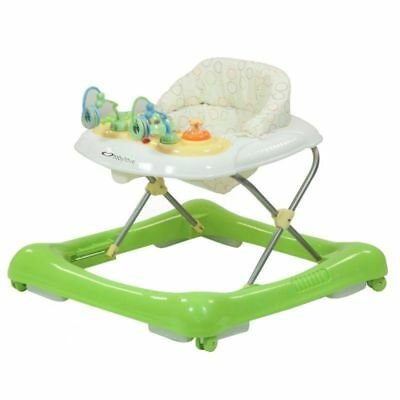 Baby Love Jazz Baby Walker Activity Centre Green