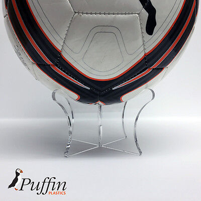 Football Display Stand - CLEAR - PERSPEX