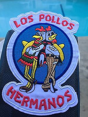 Breaking Bad Los Pollos Hermanos Iron On Sew On Heat Transfer Patch