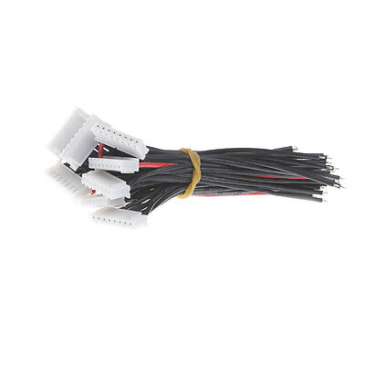 10x Battery Balance Charger Cable 7S1P Lipo 22 AWG Silicon Wire JST XH Cnnector
