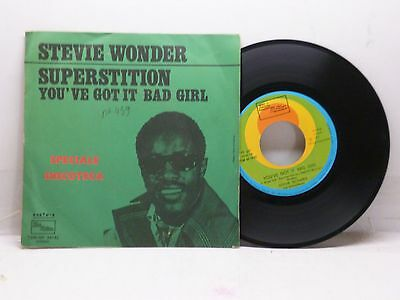 Stevie Wonder Superstition - You've Got It Bad Girl Tamla Motown Tsm-Np 64142