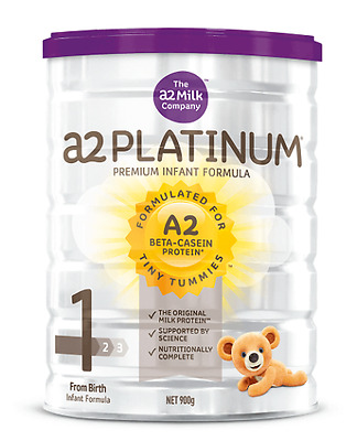 Brand New x6 A2 Platinum Premium Stage 1 Infant Formula Milk 900g x6