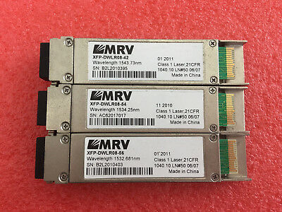 MRV XFP-DWLR08-42  DWDM Fixed C-Band 10G 80km Ready to Ship