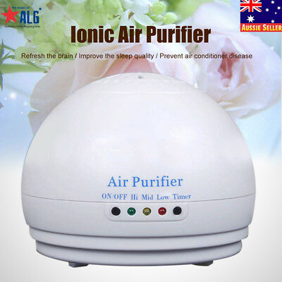 Portable Negative Ion Ionic Ozone Fresh Air Purifier Cleaner Generator car/home