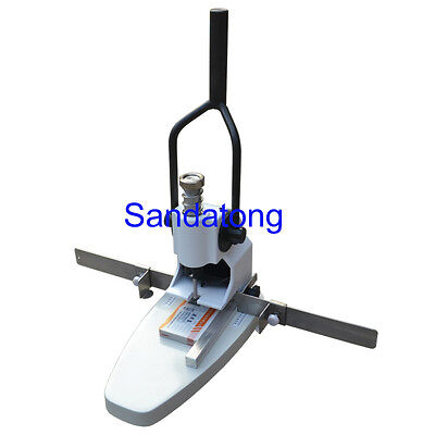 Manual Paper Drilling Machine, Paper Hole Punch Machine 0-30mm Thickness