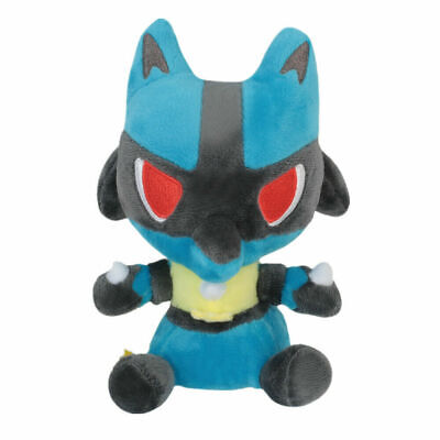 Pokemon Lucario Soft Plush Doll Stuffed Character Toys Collection Gifts 5 In.
