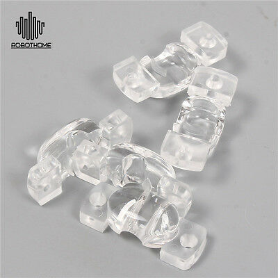 10pcs 29.9mm PMMA 60*126Degree View Angle LED Lens With Hole Rectangle Flare