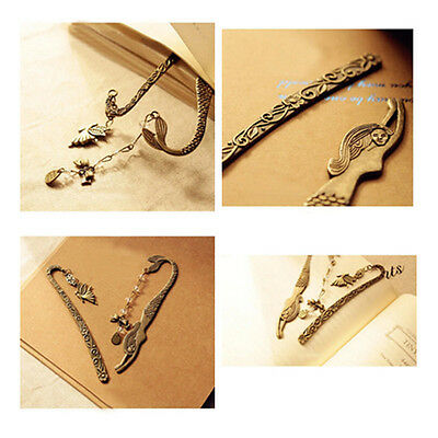 1Pcs Metal Hot Beaded Mermaid Bookmark Butterfly Fashion Alloy Retro Genius