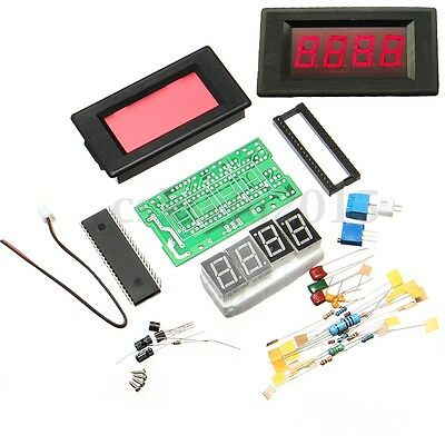 ICL7107 Digital Display Ammeter Electronic Learning Kit PCB Board DC 5V Red