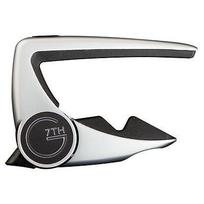G7th - Performance 2 Capo (Silver) - Acoustic/Electric Guitar [2797S] instrument
