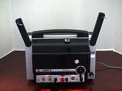 GAF 3000 S SUPER 8 SOUND Movie Film Projector Variable Speed Control NR MINT BOX