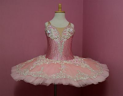 Ballet performance tutu -- Sparkle pink performance quality for Child and Adult