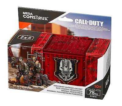 Mega Bloks Collectors Call of Duty Mercenary Outpost Armory von Mattel