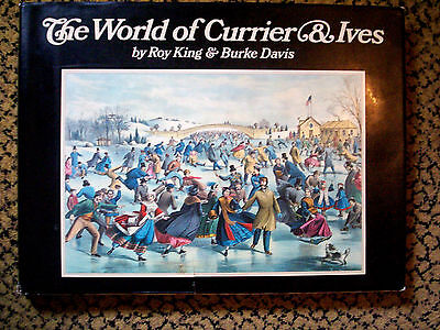VINTAGE The World of CURRIER & IVES 1968 Roy King Collection HC OVERSIZED Book