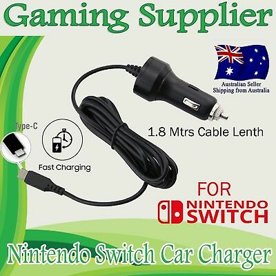 USB Type C Car Charger Power Supply Adapter for Nintendo Switch Game Pad
