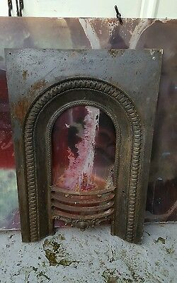 vintage antique cast iron fireplace surround reclamation reclaimed