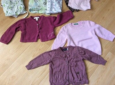 Lot vêtements bébé fille 12 mois sergent Major Benetton Lulu  castagnette