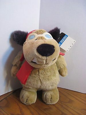 "Warner Bros. Studio Store - Muttley Stuffed Animal Plush - Approx. 12"" - 1997"